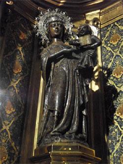 The Black Madonna of Lluc