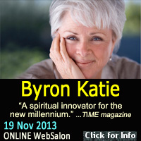 Byron Katie...online Great Mystery WebSalon