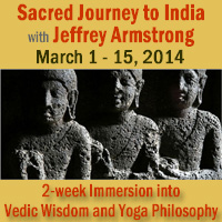 Sacred Journey to India - Vedic Wisdom and Yoga Philosophy