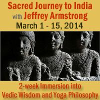 Sacred Journey to India - Vedic Wisdom and Yoga Philosophy